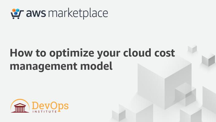AWS Webinar – Cost Management